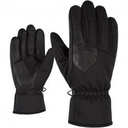 ZIENER IRDU Primaloft - Γάντια multisport - Black