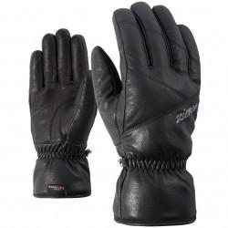 ZIENER KINGALA PR - Γυναικεία γάντια Primaloft Ski - Black
