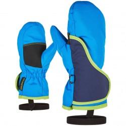 ZIENER Luki Minis - Παιδική χούφτα Ski - Persian Blue