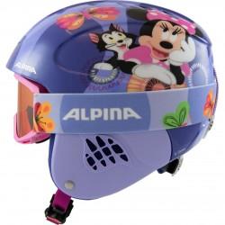 ALPINA CARAT SET Disney - Παιδικό Κράνος & Μάσκα - Minnie mouse