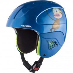 ALPINA CARAT - Παιδικό Κράνος - Blue monkey