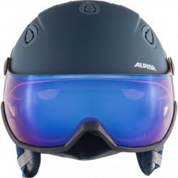 ALPINA Grap Visor 2.0 Hybrid Mirror - Κράνος με μάσκα - Ink Grey matt