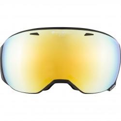 ALPINA BIG HORN Quattroflex Varioflex Mirror - Μάσκα Ski/Snowboard- Black matt/Gold spherical
