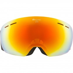 ALPINA GRANBY Hicon Mirror - Μάσκα Ski/Snowboard - Curry/Red spherical