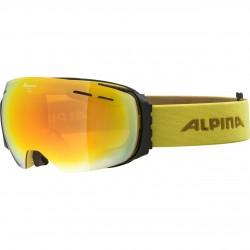ALPINA GRANBY Hicon Mirror - Ski/Snowboard Goggle - Curry/Red spherical