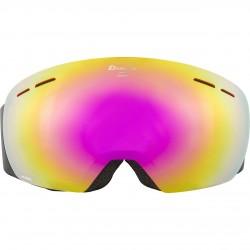 ALPINA GRANBY Hicon Mirror - Ski/Snowboard Goggle - Black cassis/Pink spherical