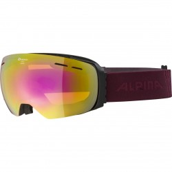 ALPINA GRANBY Hicon Mirror - Μάσκα Ski/Snowboard - Black cassis/Pink spherical
