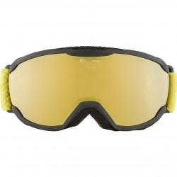 ALPINA PHEOS Junior Hicon Mirror - Παιδική Μάσκα Ski/snowboard - Black curry/Gold