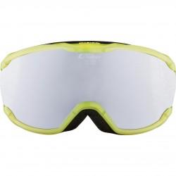 ALPINA PHEOS Junior Mirror - Παιδική Μάσκα Ski/snowboard - Translucent yellow/Black