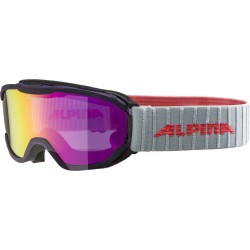 ALPINA PHEOS Junior Hicon Mirror - Παιδική Μάσκα Ski/snowboard - Purple/Pink