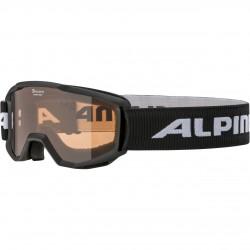 ALPINA PINEY Singleflex Hicon - Παιδική Mάσκα ski - Black