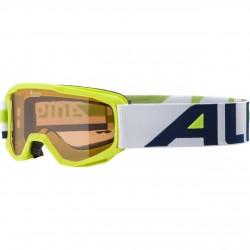ALPINA PINEY Singleflex Hicon - Παιδική Mάσκα ski - Lime