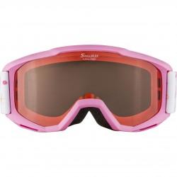 ALPINA PINEY Singleflex Hicon - Παιδική Mάσκα ski - Rose/rose