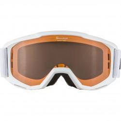 ALPINA PINEY Singleflex Hicon - Παιδική Mάσκα ski - White
