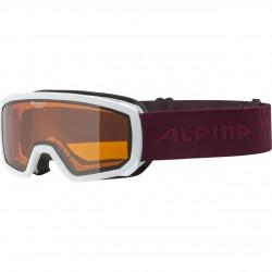 ALPINA SCARABEO Junior Doubleflex Hicon - Παιδική Mάσκα ski - White cassis