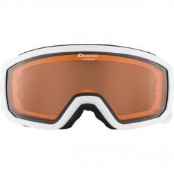 ALPINA SCARABEO Junior Doubleflex Hicon - Παιδική Mάσκα ski - White