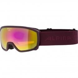 ALPINA SCARABEO Junior Hicon Mirror - Παιδική Μάσκα Ski/Snowboard - Cassis/Pink spher.
