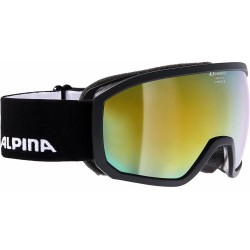 ALPINA SCARABEO Junior Hicon Mirror - Παιδική Μάσκα Ski/Snowboard - Black/Gold spher.