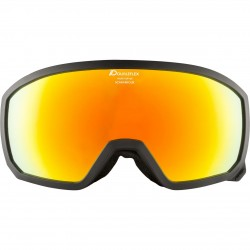 ALPINA SCARABEO Junior Hicon Mirror - Παιδική Μάσκα Ski/Snowboard - Black/Red spher.