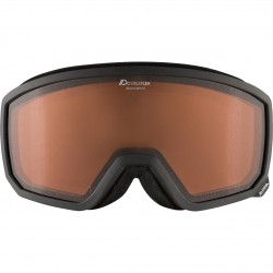 ALPINA  Scarabeo S Doubleflex Hicon - Μάσκα Ski/Snowboard - Black