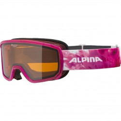 ALPINA  Scarabeo S Doubleflex Hicon - Μάσκα Ski/Snowboard - Translucent pink
