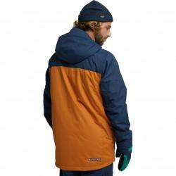 BURTON COVERT Men's snow Jacket - Dress Blue/True Penny