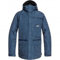 DC Servo - Men's Snow Jacket - Dress Blue/Desert night camo