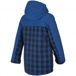 ZIENER Alinus Junior - Παιδικό Snow Jacket parka - Nautic check