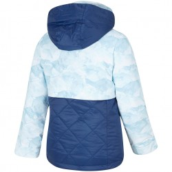 ZIENER Alula Junior - Παιδικό Snow Jacket - Blue mountain print