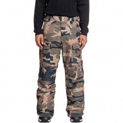 DC Code - Men's Snow Pants - Olive Night/Vintage camo