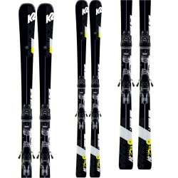 K2 Charger Skis + M3 11 TCx Light Quikclik Bindings 2020