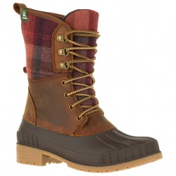 Kamik SIENNA2 - Women's winter boots - Dark Brown/Red Plaid