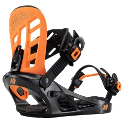 K2 Vandal Black/Orange - Παιδικές Δέστρες Snowboard 2021