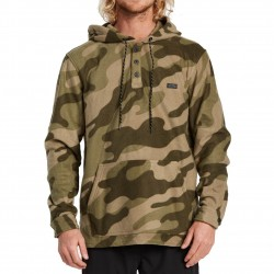 BILLABONG Furnace Anorak - Half-Zip Fleece for Men - Camo