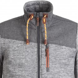 ICEPEAK Chevak - Men's midlayer jacket - Lead Grey