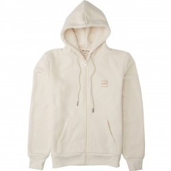 BILLABONG Saturday - Women's Fleece Hoodie  - White cap
