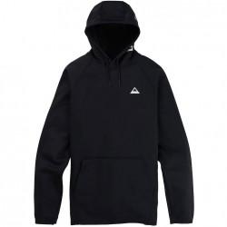 BURTON Men's Crown Weatherproof Pullover Fleece - True Black
