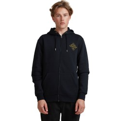 QUIKSILVER Before Light - Zip-Up Hoodie for Men - Black