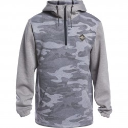 QUIKSILVER Shredder - Technical Men's Hoodie - True Black/Gps Point