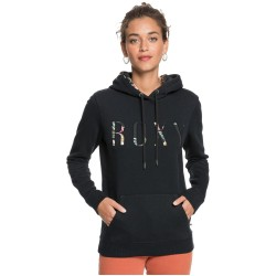 ROXY Right On Time - Women's Hoodie - Anthracite