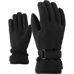 ZIENER KONNY AS - Γυναικεία γάντια Ski - Black