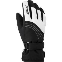 ZIENER KONNY AS - Γυναικεία γάντια Ski - Black/White