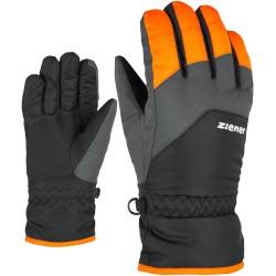 ZIENER Lando - Παιδικά Γάντια Ski - New Orange