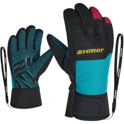 ZIENER LANUS AS® PR - Παιδικά γάντια σκι - Carribean
