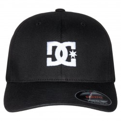 DC - Cap Star 2 Flexfit Hat  - Black