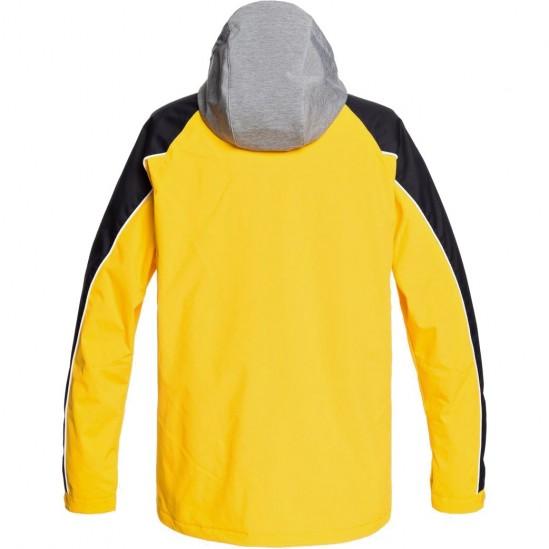 DC DCSC - Men's Snow Jacket - Lemon Chrome