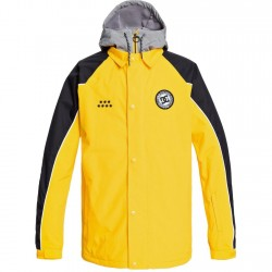 DC DCSC - Men's Snow Jacket - Lemon Chrome