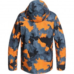 QUIKSILVER Mission Printed - Men's Snow Jacket - Flame Bustin Big camo
