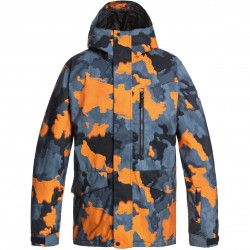 QUIKSILVER Mission Printed - Ανδρικό Snow Jacket - Flame Bustin Big camo