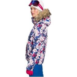 ROXY Jet Ski - Women's Snow Jacket - Mazarine Blue mind Jingle
